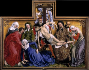 Rogier van der Weyden, The Descent from the Cross (c. 1435)